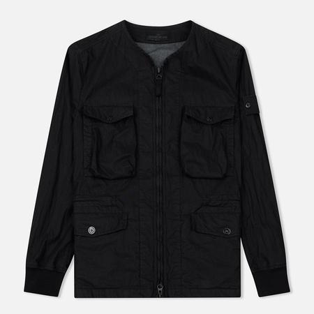 Мужская куртка Stone Island Ghost Piece 50 Fili Resinata Black