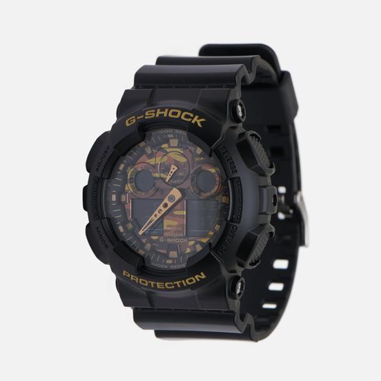 Наручные часы CASIO G-SHOCK GA-100CF-1A9ER Camo Dial Woodland