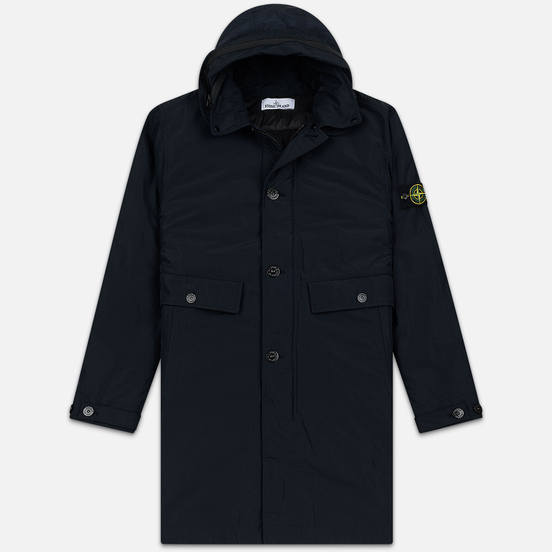 Мужская куртка Stone Island Micro Reps Parka Primaloft Insulation Technology Navy