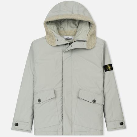Мужская куртка Stone Island Micro Reps Primaloft Insulation Technology Mastic White