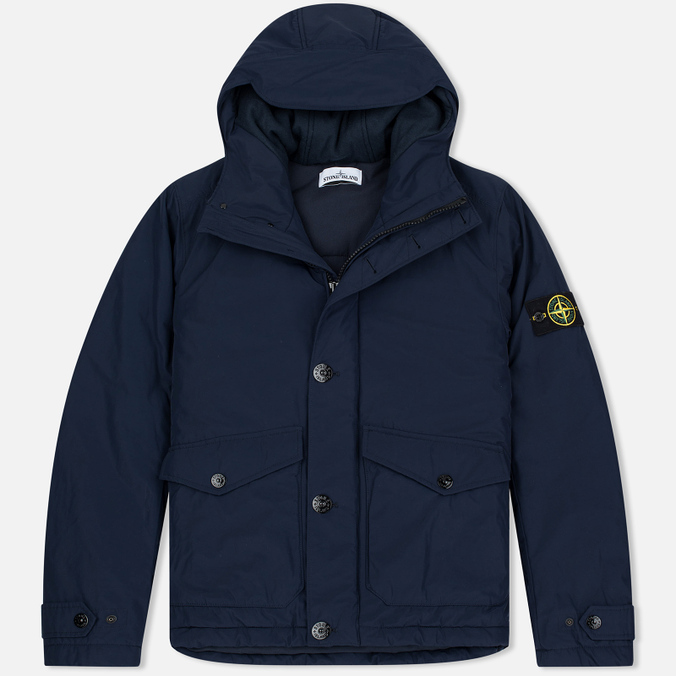 Мужская куртка Stone Island Micro Reps Primaloft Insulation Technology Navy
