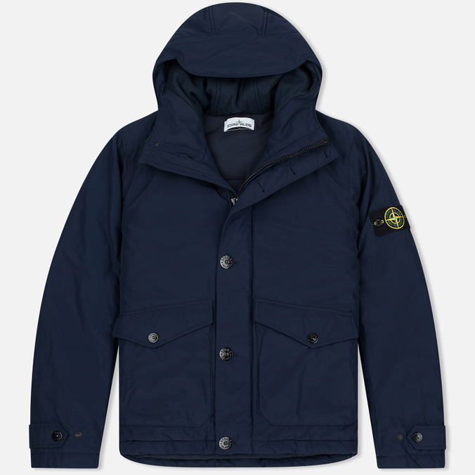 Stone Island Micro Reps Primaloft Insulation Technology Men's Jacket Navy