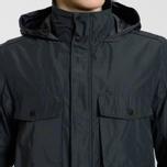 Мужская куртка Stone Island Micro Reps Zip Pocket Black фото- 3