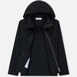 Мужская куртка Stone Island Micro Reps Zip Pocket Black фото- 1