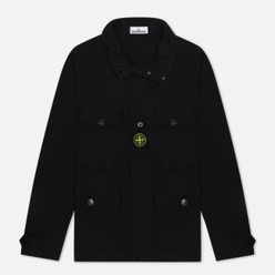 Мужская куртка Stone Island Multipocket Cotton-Nylon Black