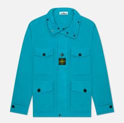 Мужская куртка Stone Island Multipocket Cotton-Nylon Turchese