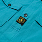 Мужская куртка Stone Island Multipocket Cotton-Nylon Turchese фото - 2