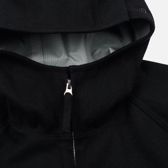 Мужская куртка Stone Island Tank Shield Wool Sytetch Multi Layer Fusion Technology Black