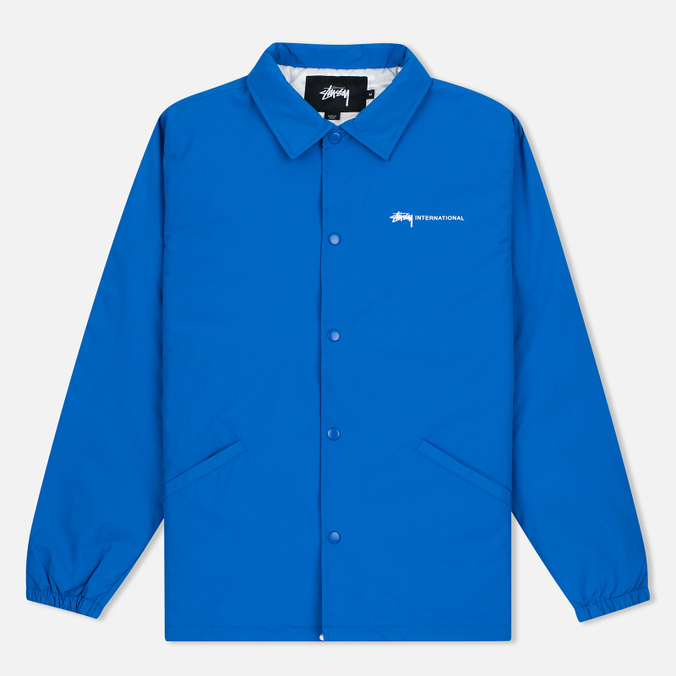 Stussy International Coach Men's Jacket Blue