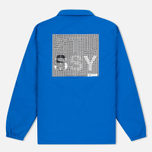 Stussy International Coach Men's Jacket Blue photo- 5