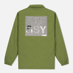 Мужская куртка Stussy International Coach Olive фото- 5