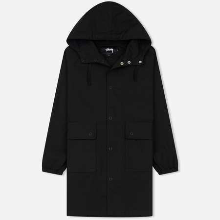 Мужская куртка Stussy Light Ripstop Hooded Black