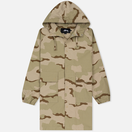 Мужская куртка Stussy Light Ripstop Hooded Camo