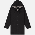 Мужская куртка Stussy Long Hooded Coach Black фото- 0