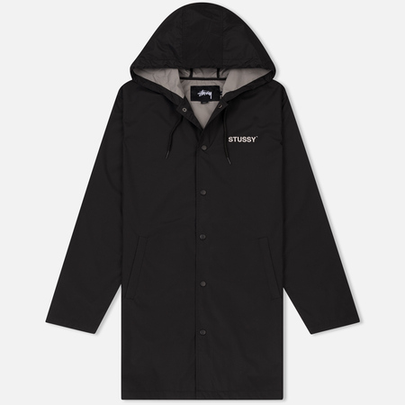 Мужская куртка Stussy Long Hooded Coach Black