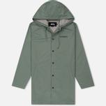 Мужская куртка Stussy Long Hooded Coach Olive фото- 0