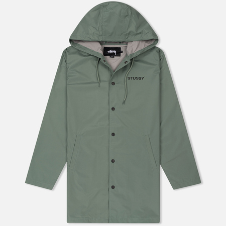 Мужская куртка Stussy Long Hooded Coach Olive
