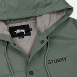 Мужская куртка Stussy Long Hooded Coach Olive фото- 2