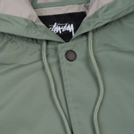 Мужская куртка Stussy Long Hooded Coach Olive фото- 3