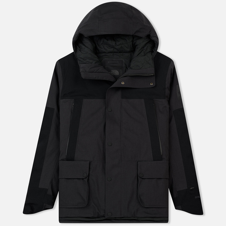 Мужская куртка The North Face CRYOS Insulated Mountain Gore-Tex 2L Weathered Black