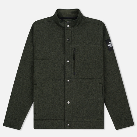 Мужская куртка The North Face Denali Cardigan Rosin Green Dark Heather