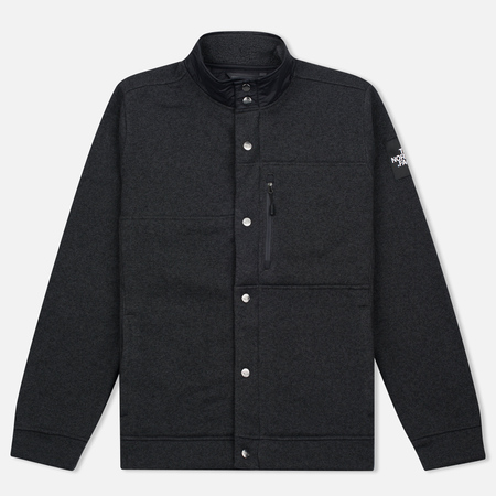 Мужская куртка The North Face Denali Cardigan TNF Dark Grey Heather