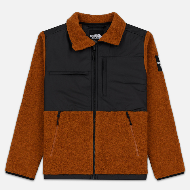 Мужская куртка The North Face Denali Fleece Caramel Cafe/TNF Black