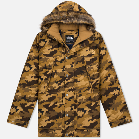 Мужская куртка парка The North Face Mountain Murdo Brown Camo