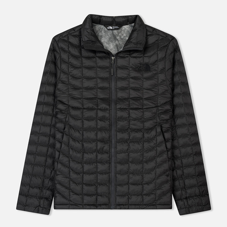 Мужская куртка The North Face Thermoball Full Zip Asphalt Grey/Fusebox Grey Process Print