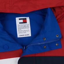 Мужская куртка Tommy Jeans Flag Reverse Jester Red/Multi фото- 3