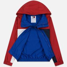Мужская куртка Tommy Jeans Flag Reverse Jester Red/Multi фото- 1