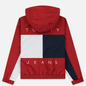 Мужская куртка Tommy Jeans Flag Reverse Jester Red/Multi фото - 7
