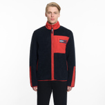 Мужская куртка Tommy Jeans Flag Zipthru Expedition 6.0 Dark Saphire фото- 8