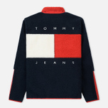 Мужская куртка Tommy Jeans Flag Zipthru Expedition 6.0 Dark Saphire фото- 7