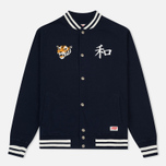 Мужская куртка TSPTR Suka Snoopy Japan Varsity Warm Up Indigo фото- 0