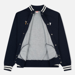 Мужская куртка TSPTR Suka Snoopy Japan Varsity Warm Up Indigo фото- 1