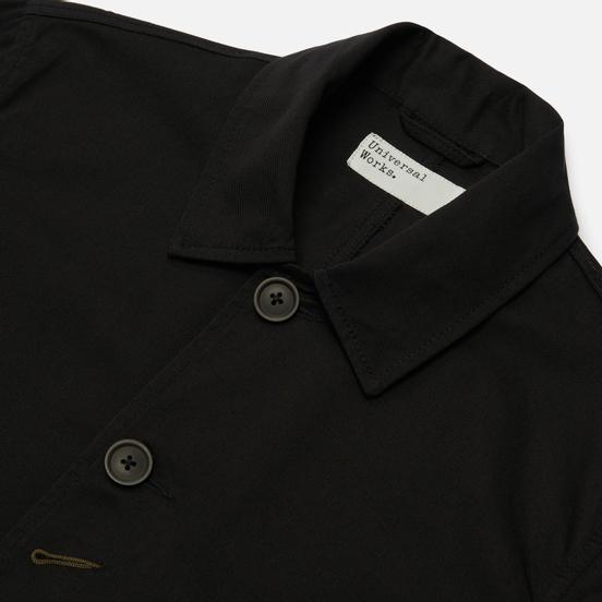 Мужская куртка Universal Works Bakers Twill Black