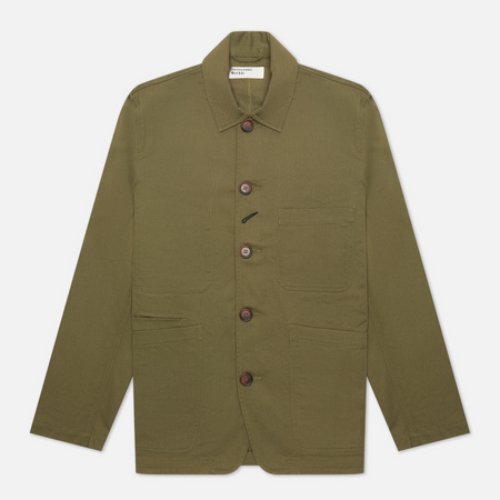 Мужская куртка Universal Works Bakers Twill Light Olive