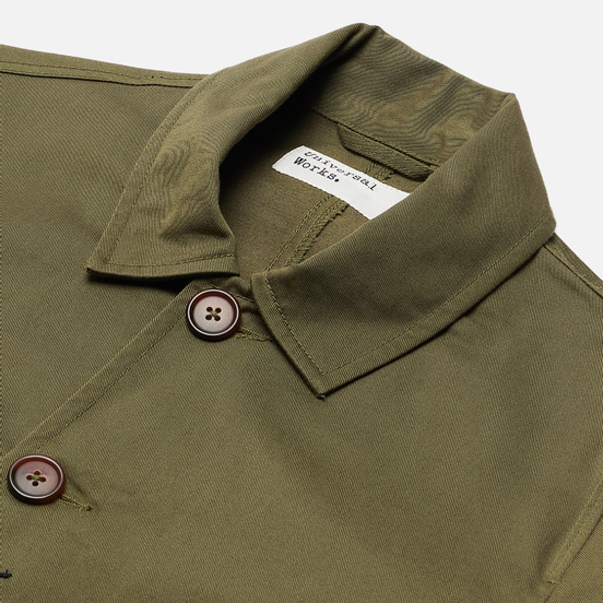 Мужская куртка Universal Works Bakers Twill Light Olive