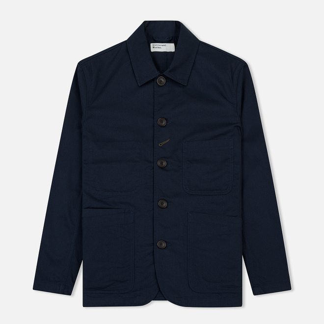 Мужская куртка Universal Works Bakers Twill Navy