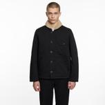 Мужская куртка Universal Works N1 Twill Black фото- 5