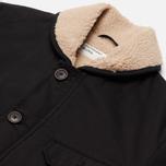 Мужская куртка Universal Works N1 Twill Black фото- 1
