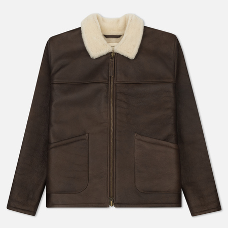 Мужская куртка Universal Works Sheepskin Brown