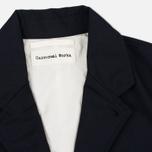 Мужская куртка Universal Works Two Button Caberdine Navy фото- 2