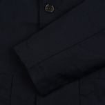 Мужская куртка Universal Works Two Button Caberdine Navy фото- 3