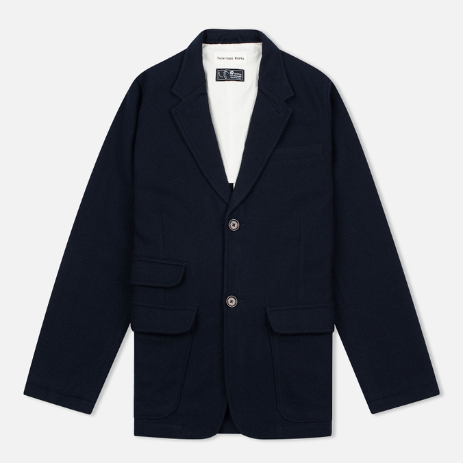 Мужская куртка Universal Works Two Button Navy