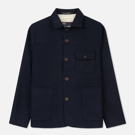 Мужская куртка Universal Works Union Shetland Twill Navy