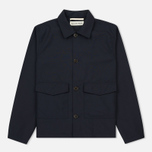 Мужская куртка Universal Works Watchman Tropical Wool Navy фото- 0