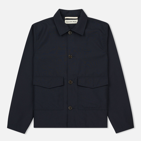 Мужская куртка Universal Works Watchman Tropical Wool Navy