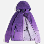Мужская куртка ветровка Acronym x Nemen Hardshell Object Dyed Dark Purple/White фото- 1